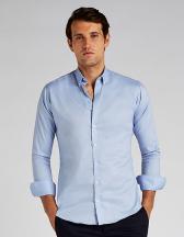 Slim Fit Stretch Oxford Shirt Long Sleeve