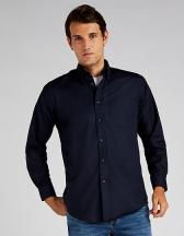 Men`s Classic Fit Workwear Oxford Shirt Long Sleeve