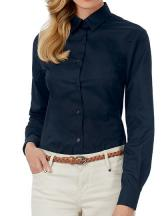 Twill Shirt Sharp Long Sleeve / Women